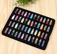 Набор блёсток, глиттер, добавки для слайма или посыпки для ногтей