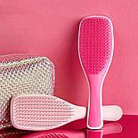 Расческа для волос бело-розоваяn Teezer, фото 3
