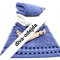 Качественное полотенце с принтом кружочки.Размер :0,35 x 0,75