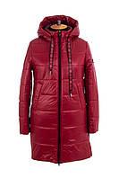 Куртка женская осень-весна большого размера  48-58 красный