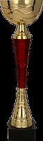 Кубок 9217, золотисто'-красный