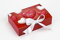 """Коробка """"Стильная-мини"""" М0028-о13 """"Love"""", размер: 195*130*50 мм, фото 1"""
