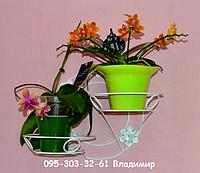 Круг, подставка для цветов на 2 чаши