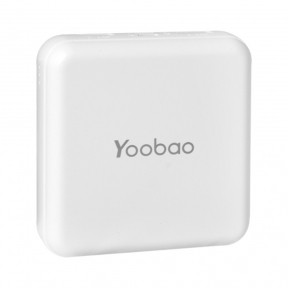 Внешний аккумулятор (Повербанк) Power Bank Yoobao M4 mini 10000 mAh White
