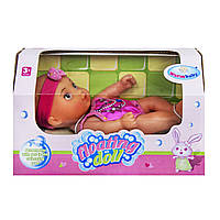 Плавающий пупс Warm Baby Floating doll Розовый (WZJ021A-1)