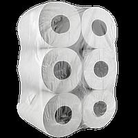 Бумага туалетная ПП Jumbo 1сл серая (1уп/12шт)