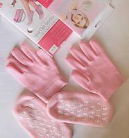 SPA перчатки и носочки увлажняющие гелевые набор
