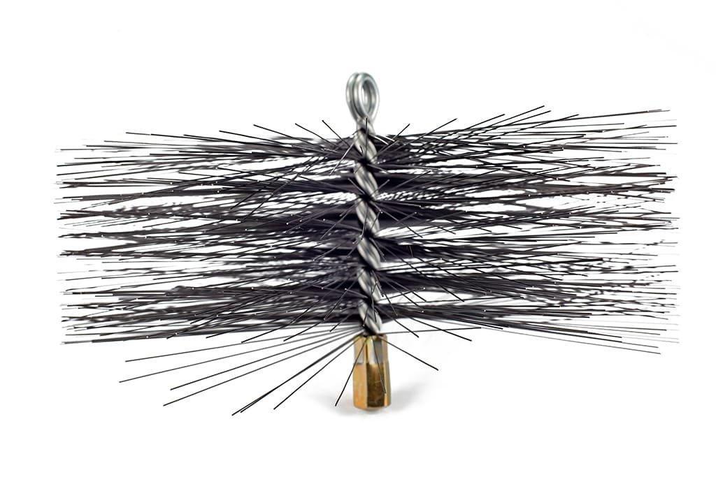 Щетка (ерш) металлическая для чистки дымохода 300 мм