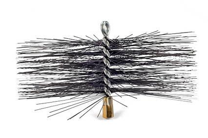 Щетка (ерш) металлическая для чистки дымохода 300 мм, фото 2