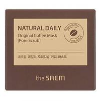 Маска для лица The Saem Natural Daily Original Coffee Mask 100 г, фото 2