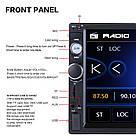 """Автомагнитола Podofo 2 din 7010G с GPS мультимедийный плеер 7 """"HD сенсорный экран, AV-In, стерео 5MP Bluetooth, фото 3"""