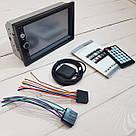 """Автомагнитола Podofo 2 din 7010G с GPS мультимедийный плеер 7 """"HD сенсорный экран, AV-In, стерео 5MP Bluetooth, фото 8"""