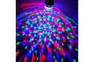 Карнавальна обертається диско лампочка хамелеон Led mini party light lamp гірлянда для святковий куля, фото 6