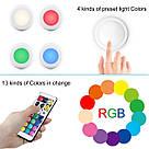 Комплект світлодіодних LED ламп підсвічування для будинку Magic Lights RGB кольоровий світильник з пультом управління, фото 2
