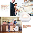 Комплект світлодіодних LED ламп підсвічування для будинку Magic Lights RGB кольоровий світильник з пультом управління, фото 3