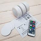 Комплект світлодіодних LED ламп підсвічування для будинку Magic Lights RGB кольоровий світильник з пультом управління, фото 7