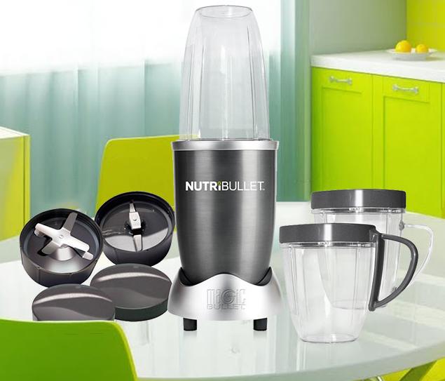 Блендер Nutribullet / Magic Bullet 600 W - Пищевой экстрактор / Кухонный комбайн реплика