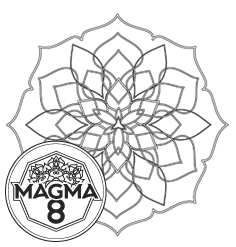 Раскраска мандала для привлечения богатства и процветания «TARA» (средняя сложность).