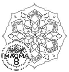 Раскраска мандала для привлечения богатства и процветания «TARA» (высокая сложность).