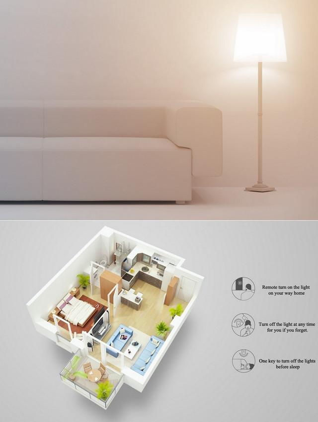 Розумна лампа Xiaomi Yeelight LED WiFi Colorful Smart Bulb E27 YLDP02YL/GPX4002RT