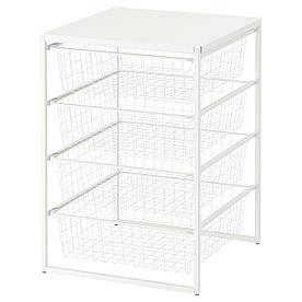 IKEA Рама с проволочными корзинами JONAXEL ( 793.050.98)