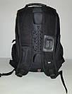 Швейцарский рюкзак WENGER SwissGear 6621 черно-серый с дождевиком, USB-кабелем, разъёмом под наушники реплика, фото 4