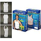 Корректирующая мужская боди майка Slim & Lift (Слим энд Лифт)  мужское утягивающее белье для коррекции фигуры, фото 3