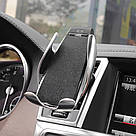 Автомобильный держатель сенсорный Penguin Smart Sensor S5 QI c беспроводной зарядкой 10w Black  датчик движени, фото 2