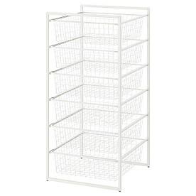 IKEA Рама с проволочными корзинами JONAXEL ( 192.971.38)