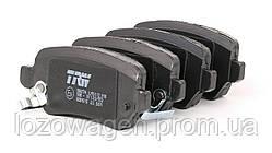 Колодки тормозные задние Astra H TRW GDB1515