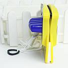 Двосторонній магнітний скребок щітка Double Side Glass Cleaner для миття. полірування вікон Gluderн Glider Глідер, фото 6