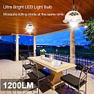 Антимоскитная светодиодная лампа ловушка уничтожитель Zapp Light 2 в 1 против комаров москитов мошек фумигатор, фото 10