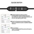 Беспроводные вакуумные наушники JBL T180A Bluetooth магнитные с микрофоном гарнитура микрофон телефон блютуз, фото 7