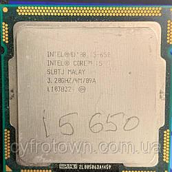 Процессор Intel Core i5 650 2(4)x3.2GHz 4mb cache s1156