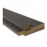 Дверная коробка Омис комплект деревянная с уплотнителем ПВХ 80*33*2024мм Premium dark