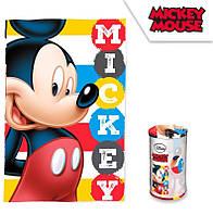 Детский флисовый плед Disney Микки Маус 100х150 для мальчика