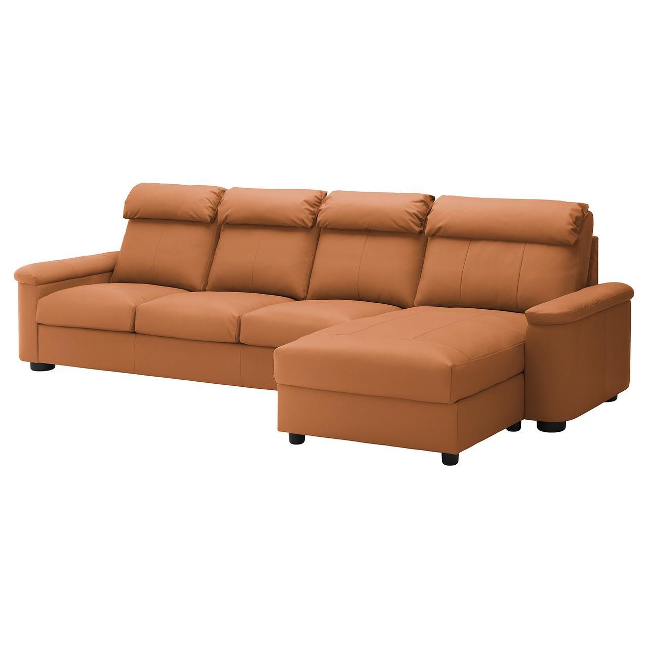 IKEA Диван кожаный LIDHULT (492.920.40)