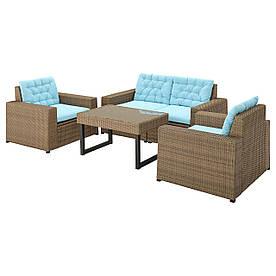 IKEA Комплект мебели садовый SOLLERÖN (193.033.04)
