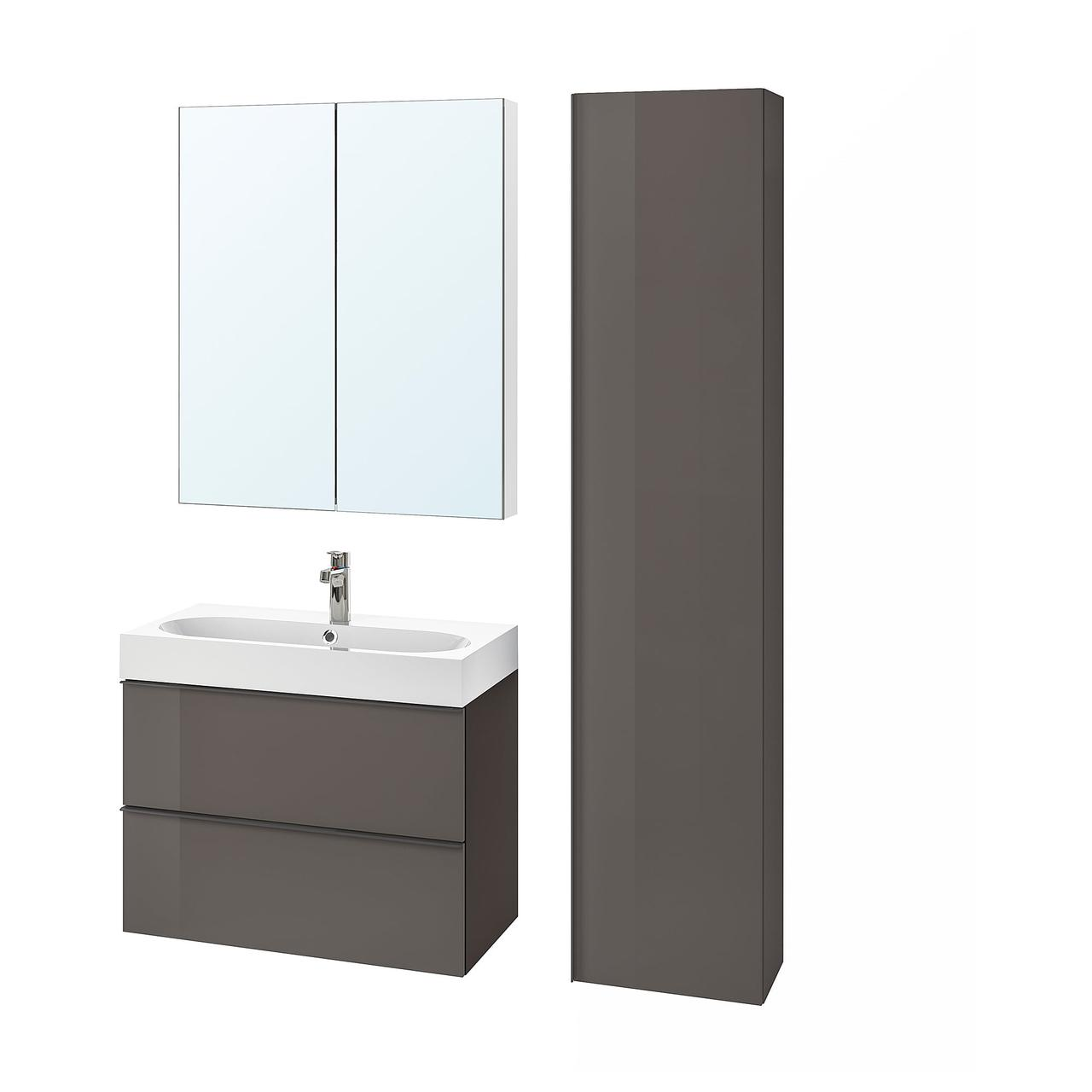 IKEA Комплект мебели для ванной GODMORGON / BRÅVIKEN ( 993.044.89)