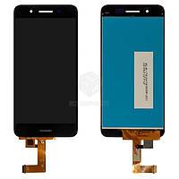 Дисплей для Huawei Enjoy 5s, GR3 (TAG-L01, TAG-L03, TAG-L21) Оригинал Черный с сенсором