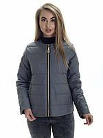 Женская демисезонная куртка Irvik ZK135 оливковая