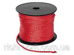F1-00134, Універсальна мотузка POWERFIX, будівельний шнур, 2 мм х 50 м POWERFIX, , червоний
