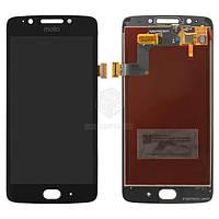 Дисплей для Motorola Moto G5 (XT1670, XT1672, XT1675, XT1676, XT1677) Оригинал Черный с сенсором