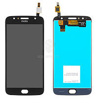 Дисплей для Motorola Moto G5s Plus (XT1802, XT1803, XT1805) Оригинал Черный с сенсором