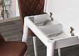 Комплект обеденной мебели POLO masa / NOVA san.130+30/80/75 - стол + 4 стула Mobilgen, Турция, фото 3