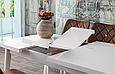 Комплект обеденной мебели POLO masa / NOVA san.130+30/80/75 - стол + 4 стула Mobilgen, Турция, фото 2