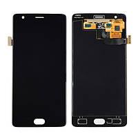 Дисплей для OnePlus 3 A3003, 3T A3010 Оригинал Черный с сенсором