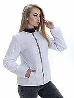 Женская демисезонная куртка Irvik ZK134 белая