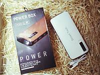Внешний аккумулятор Power Bank Smart Tech 5000 mah портативная зарядка Белый