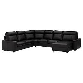 IKEA Диван кожаный LIDHULT ( 192.572.55)